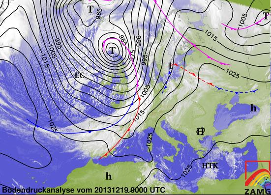 Image d'illustration pour Tempête Bernd - Fortes rafales en Bretagne et Normandie