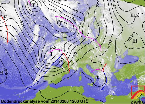 Image d'illustration pour Dépression Qumaira - vents forts - graves inondations en Bretagne