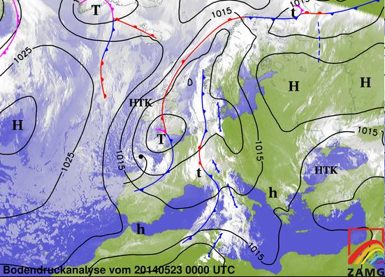 Image d'illustration pour Front orageux - fort coup de vent sur le Pays Basque