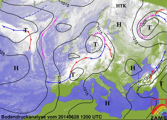 Image d'illustration pour Synthèse de l'épisode orageux des 27 et 28 juin