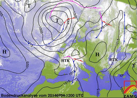 Image d'illustration pour Synthèse de l'épisode pluvio-orageux des 3 et 4 juillet