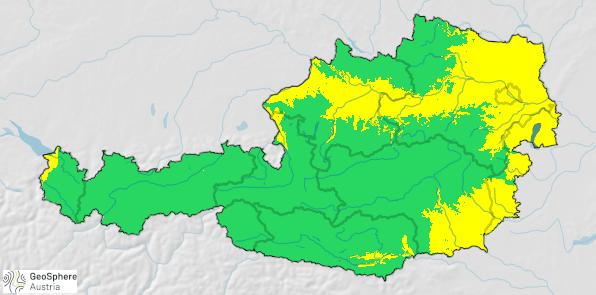ZAMG Prognosekarte Österreich