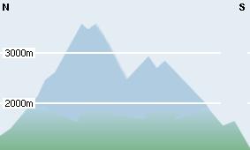 Prognosekarte heute für Kärnten
