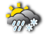 Flachgau/Tennengau: sleet showers