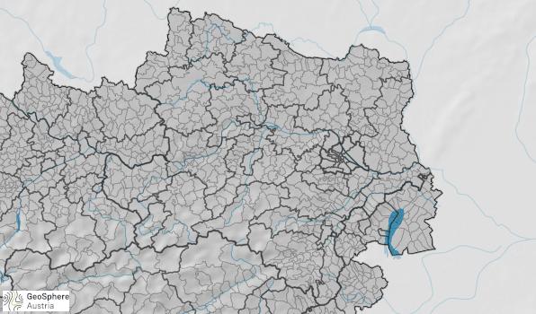 Karte der Waldbrandgefahr