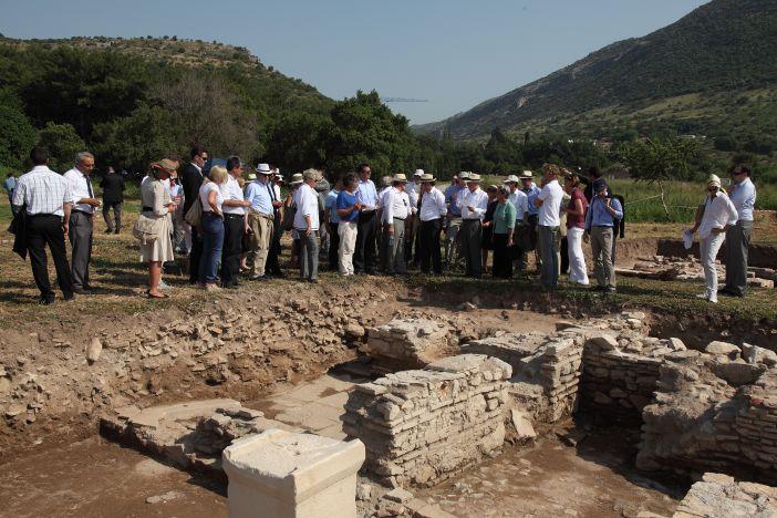Hochrangiger Besuch in Ephesos