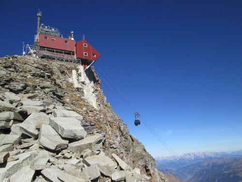 Neue Seilbahn zum Sonnblick-Observatorium