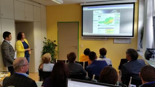 Wetterdienste aus Zentralasien besuchten ZAMG in Innsbruck
