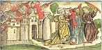 Holzschnitt aus der 'Weltchronik' von Hartmann Schedel, 1493. © ZAMG Geophysik Hammerl