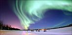 Polarlicht in Alaska. © U.S. Air Force