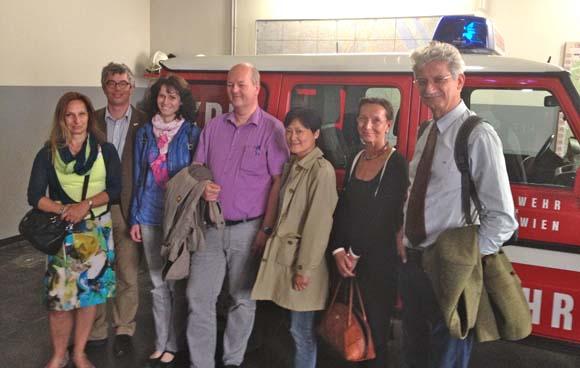 Erdbebendienst der ZAMG besucht MA 68 – Feuerwehr und Katastrophenschutz