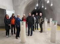 GeologInnen des Amtes der Niederösterreichischen Landesregierung am CONRAD Observatorium