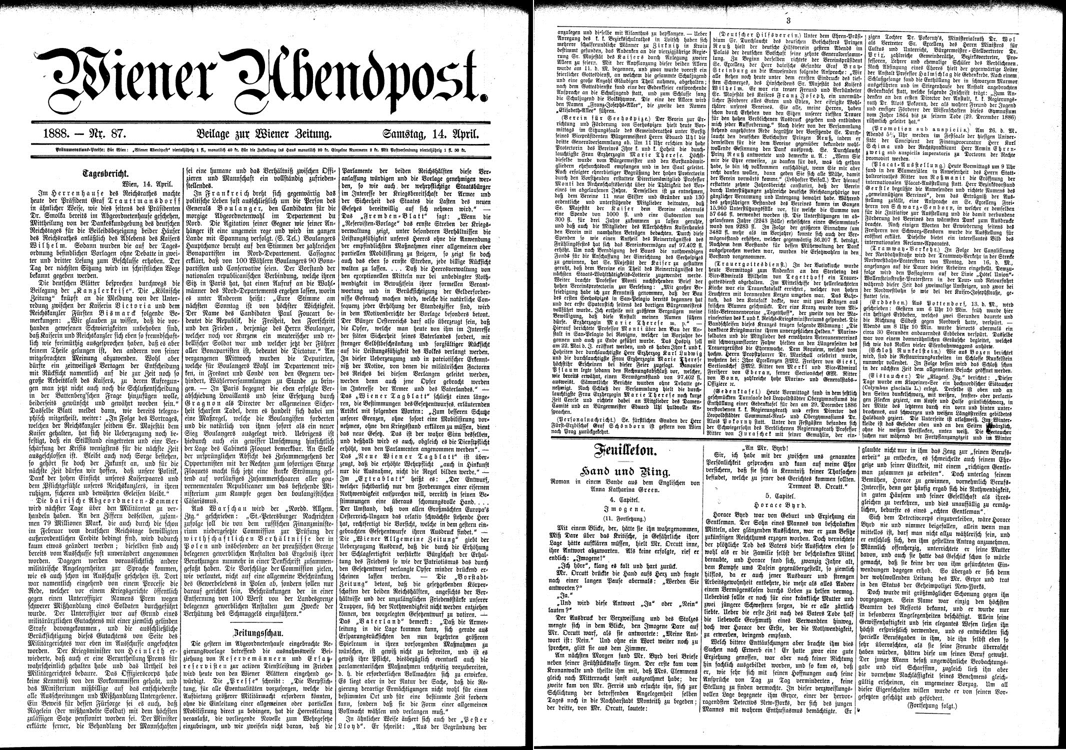 Vor 125 Jahren: Stärkstes Erdbeben im Gebiet des heutigen Burgenlandes