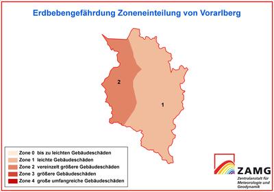 Erdbebengefahr in Vorarlberg