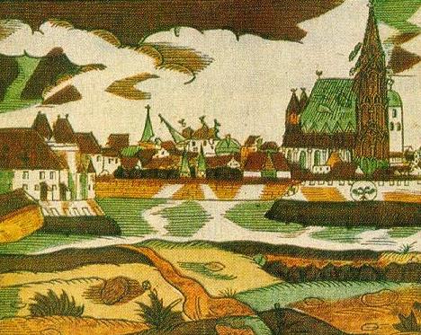Erdbebenschäden Wien 1590