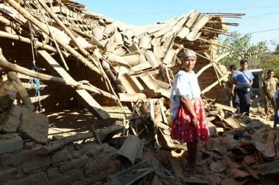 Schäden des Erdbebens am 20. März 2012 in Mexiko
