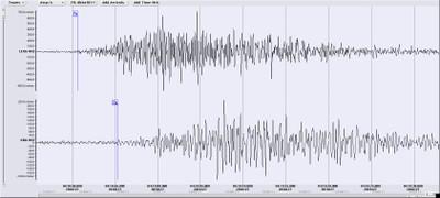 Felssturz Mai 2018 Seismogramm