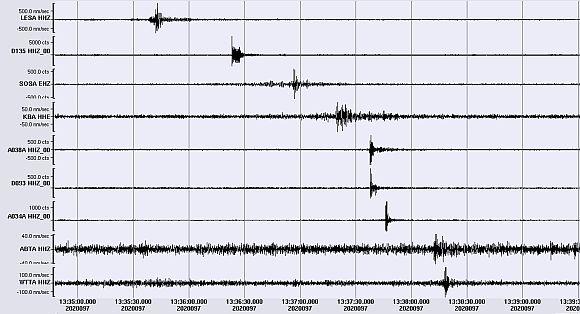 Feuerkugel über Österreich wurde seismisch registriert