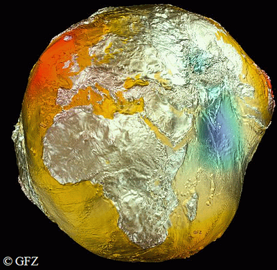 Die Figur der Erde wird durch das Geoid definiert.