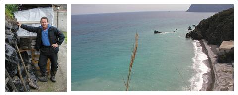 Der Nordosten der Äolischen Insel Lipari ist bekannt für seine mächtigen Obsidianvorkommen. © Rauchegger / Legerer