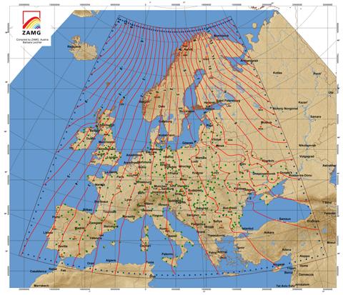 Europa 2006 © ZAMG Geophysik