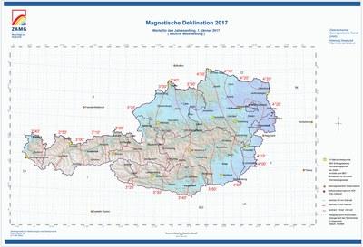 Magnetische Deklination 2017 1