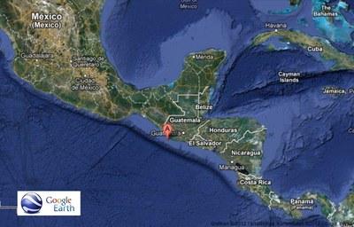 7. Nov 2012 Guatemala/Karte
