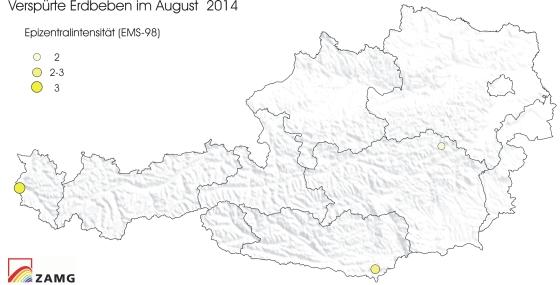 Erdbeben im August 2014