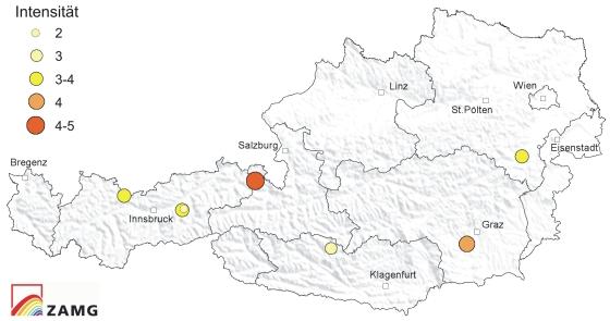 Erdbeben im Mai 2013