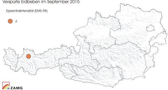 Erdbeben im September 2015