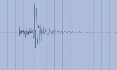 Erdbebens südlich von Wattens, Tirol, am 3. Juli 2012