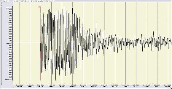 Kräftiges Erdbeben am 9. August 2013 bei Hall in Tirol