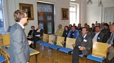 Informationsveranstaltung: 40 Jahre Seebenstein - Beben