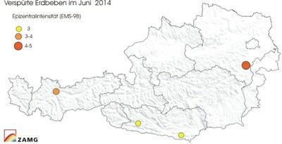 Karte Juni 2014