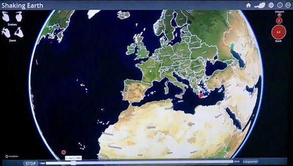 Symposium und interaktive Informationen zu Erdbeben im Naturhistorischen Museum Wien