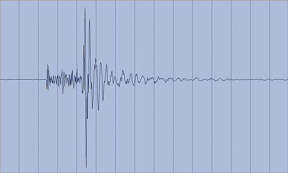 Erdbeben im Juli 2012