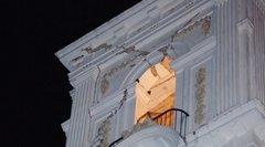 Schäden an der Kathedrale von Chilpancingo, Mexiko