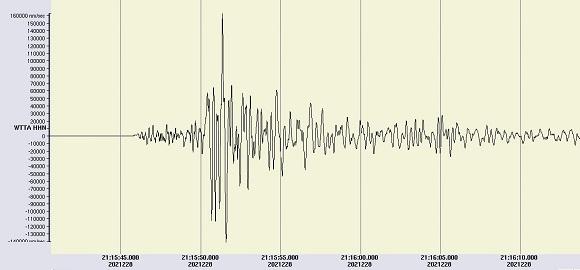 Ein nächtliches Erdbeben erschüttert den Raum Wörgl in Tirol