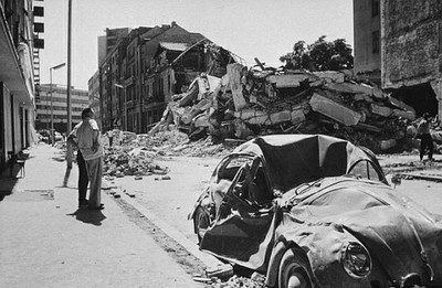 Skopje1963-Schäden