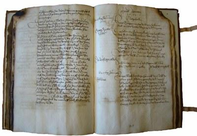 Stadtarchiv Innsbruck StAI, Ratsprotokoll 1572, f.141r