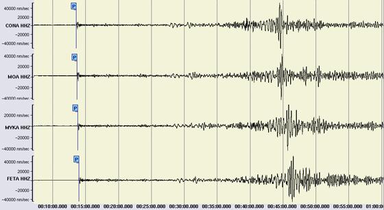 Das Lushan-Erdbeben in China am 20. April 2013