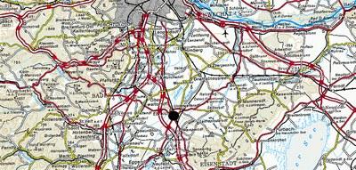 Ebreichsdorf Epizentrum Karte