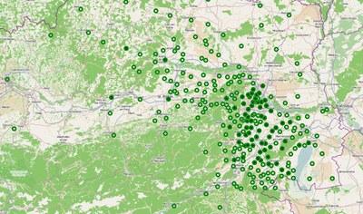 Ebreichsdorf Meldungen Karte