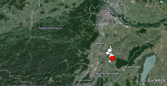 Wieder kräftiges Erdbeben bei Ebreichsdorf (NÖ)