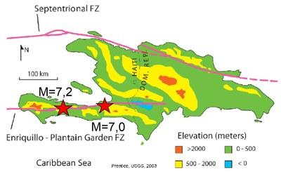 Haiti 2021 Tektonik