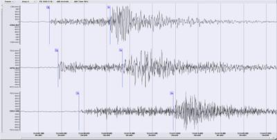 Seismogramm Gurk groß