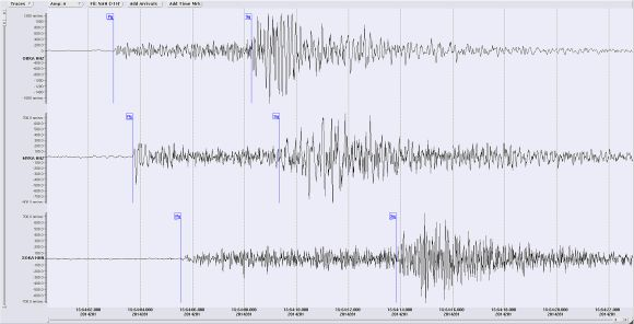 Seismogramm Gurk