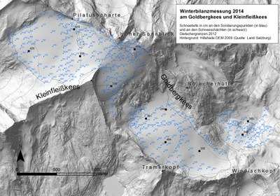 gletscher-messpunkte-schneetiefe_zamg