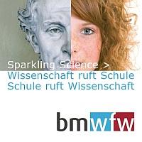 Logo Sparkling Science dt.