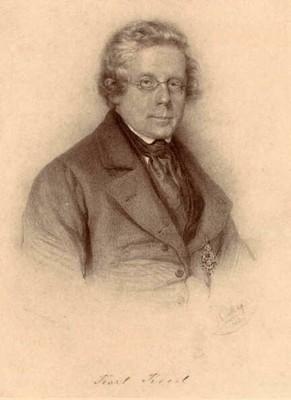 Karl Kreil, erster Direktor der ZAMG (© ZAMG)
